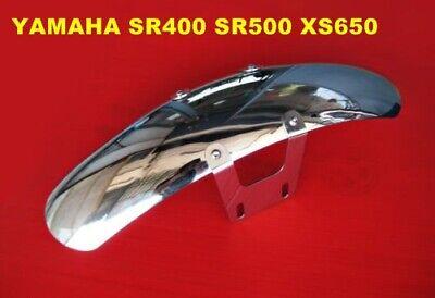 YAMAHA SR400 SR500 XS650  CAFE RACER FRONT FENDER STAINLESS STEEL  [mi4796]