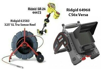 Ridgid 325 Slts Color Reel63583seektech Sr-24 Locator44473cs6x Versa64968