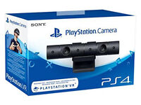 SONY PLAYSTATION 4 CAMERA / GAMES EXTRA - BRAND NEW AND SEALED FOR PS4 / VR
