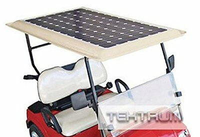 Tektrum Universal 200 watt 200w 48v Solar Panel Battery Charger Kit For Golf Car
