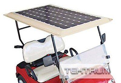Tektrum Universal 240 watt 240w 48v Solar Panel Battery Charger Kit For Golf Car