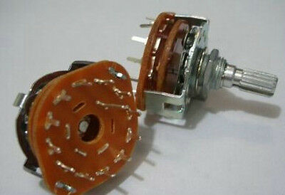 1pc Rotary Switch Potentiometer 1 Pole 12 Position12ps