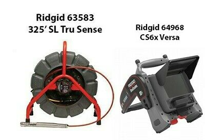 Ridgid 325 Color Self Leveling Tru Sense Reel 63583 Cs6x Versa Monitor64968