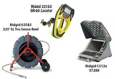 Ridgid 325 Sl Tru Sense Color Reel 63583 Seektech Sr-60 22163 Cs12x 57288