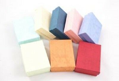 New 25 Small Assorted Color Cotton Filled Jewelry Ring Earring Gift Boxes 178
