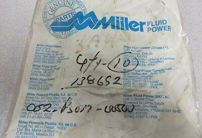 Miller Fluid Power Piston U-cup Teflon Pn 052-ps017-500