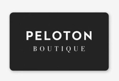Peloton Boutique Code $100 Off Clothing *Instant Delivery