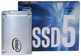 "Top range new condition 512GB 2.5"" SSD Intel 5450s SATA III 6(GB/s)Read 550MB/s"
