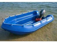 Whaly 370 dinghy