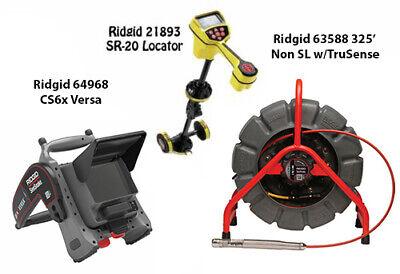 Ridgid 325 Color Reel Nonsl Ts63588 Seektech Sr-20 22163 Cs6x Versa 64968