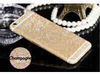 Full Body Glitter Bling Sticker Protector Case Cover Skin for iPhone 6/6s /7