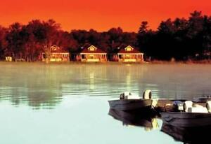 Sparrow Lake 3 bedroom cottage sleeps 8 (Jan18-25) Value$4200