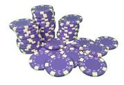 Purple Poker Chips