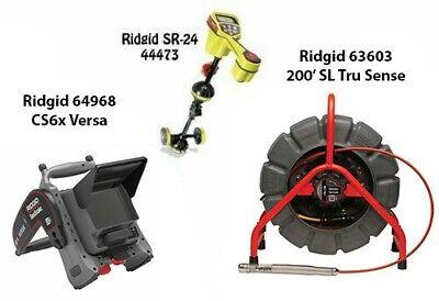 Ridgid 200 Color Slts Reel63603 Seektech Sr-24 Locator44473cs6xversa64968