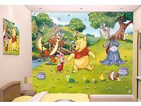 Disney Winnie the Pooh Walltastic Wall Mural (New in box)