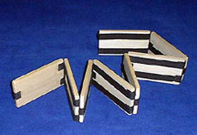 Folk Toys Wood Jacob's Ladder Classic Wooden Toy Forms Numbers & Letters 357503 (Jacob's Ladder Toy)
