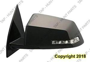 Door Mirror Power Driver Side Heated With Signal Power Folding With Memory Chevrolet Traverse 2009-2013