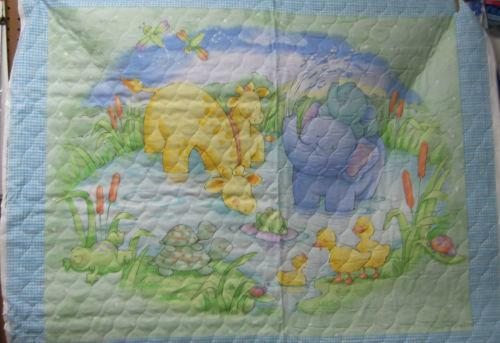 Pre Quilted Baby Fabric Ebay