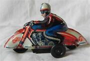Blechspielzeug Motorrad
