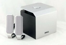 NEW DELL A525 ZYLUX ACOUSTICS MULTIMEDIA SPEAKERS WITH SUBWOOFER