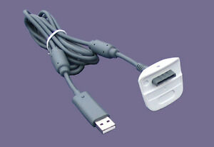 Play & Charging Cable for Xbox 360