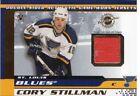 Memorabilia Cory Stillman Hockey Trading Cards Pacific