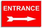 Arrow Entrance Decorative Plaques & Signs