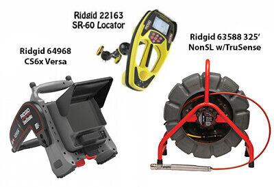 Ridgid 325 Color Reel Nonsl Ts63588 Seektech Sr-60 22163 Cs6x Versa 64968