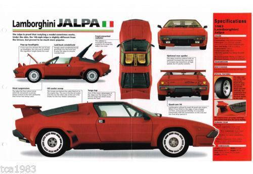 Lamborghini Jalpa Ebay