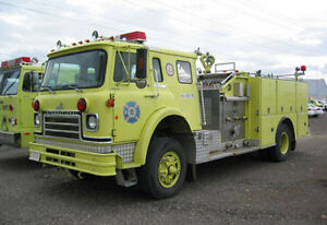 Looking for Calgary Fire Trucks & Town of High River Fire Trucks