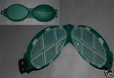 Carp fishing tackle GREEN TURTLE shape box FULLY LOADED with our best hooks