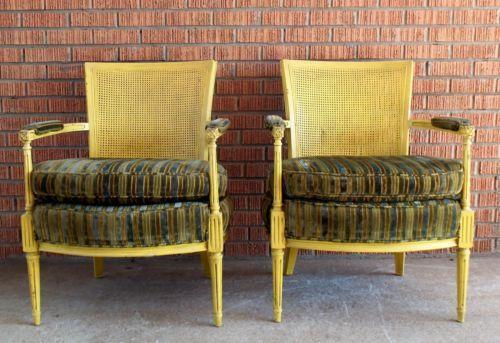 Antique Cane Back Chairs Ebay