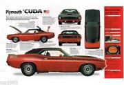 Barracuda Brochure 1970