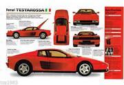 Ferrari Testarossa Parts