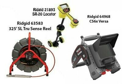 Ridgid 325 Color Sl Ts Reel63583 Seektech Sr-20 21893 Cs6x Versa 64968