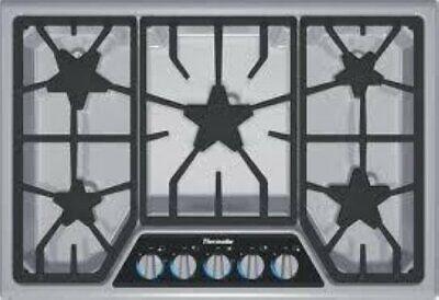 """NIB Thermador 30"""" Illuminated Control Panel 5 Star Burners G"""