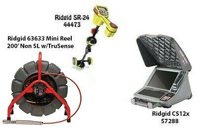 Ridgid 200 Mini Reel Nosl Wtrusense63633 Seektech Sr-2444473 Cs12x 57288