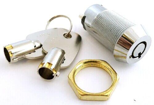 ON/OFF Round Key Switch with 2 Barrel Keys CES 66-2802 (1 pc)