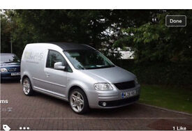 VW Caddy 1.9 TDi Camper Day Van Insulated Carpeted