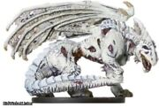 Dungeons and Dragons Miniatures White Dragon