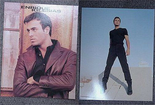 Enrique Iglesias Vivir 1997 Tour Book New Rare Mint