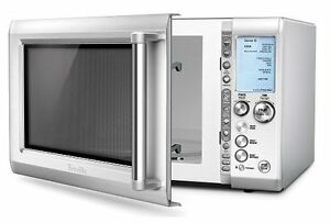 Breville Countertop Microwave - 1.2 Cu. Ft. - Die Cast Metal