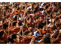 GEMINIANI YOUTH ORCHESTRA ! VIOLINS, VIOLAS, CELLOS, BASSES, REQUIRED !!!