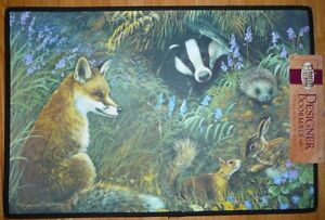 Jungle of Eden, English Wildlife, butterfly, Elk, Loons doormats
