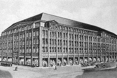 Kaufhaus Kortum AG Bochum histor. Anleihe 1935 Gebr. Alsberg Köln Kaufhof Saturn