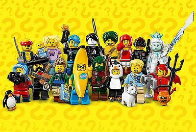 LEGO 71013 Series 16 Minifigures - Complete Set of 16 - New in Pkg
