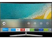 "Samsung 65"" UE65KU6500 4K UHD Curved Smart TV Ultra slim tv crystal body."