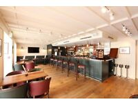 Experienced Bar and Waiting staff required for Private Members Club