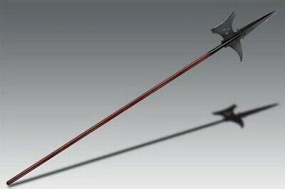 "Cold Steel 89MSG MAA Sergeant's Halberd Fixed Blade 85.25"""