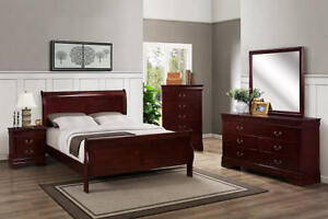 Brand new 5 Piece Bedroom set $798 only FREE DELIVERY+SETUP